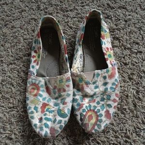 TOMS paisley vegan originals